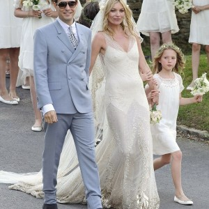 Kate moss wedding 2011 galliano
