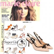 Lucy Choi shoes in Marie Claire