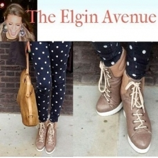 Monica from The Elgin Avenue features Daniel nude heels