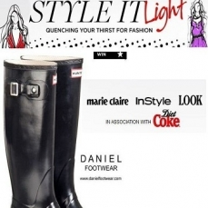 Daniel Footwear and Style It Light