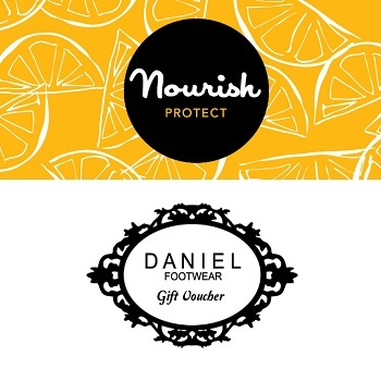 Nominate your Mum this Mother's Day and win the value of £200 in Daniel Footwear vouchers and Nourish skin care goodies