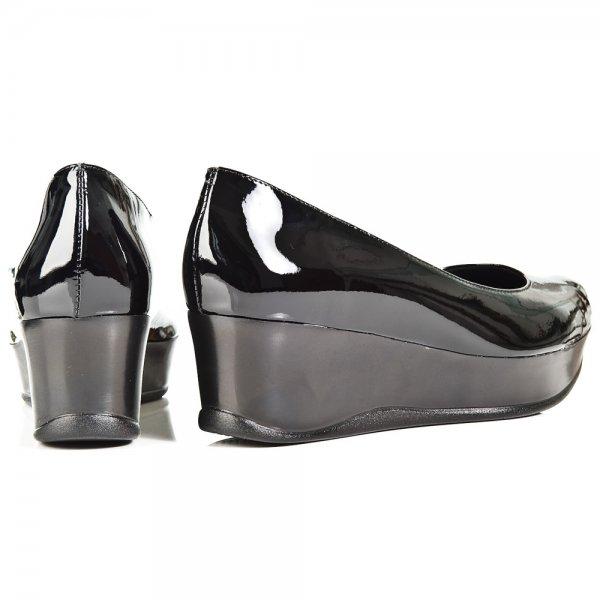 Daniel Daniel Black Macbeth Womens Wedge Shoe - Daniel from Daniel