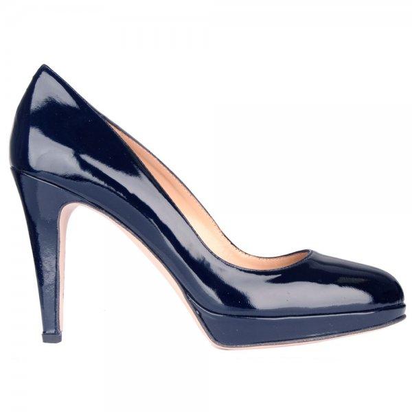 daniel navy hibian s platform court shoe