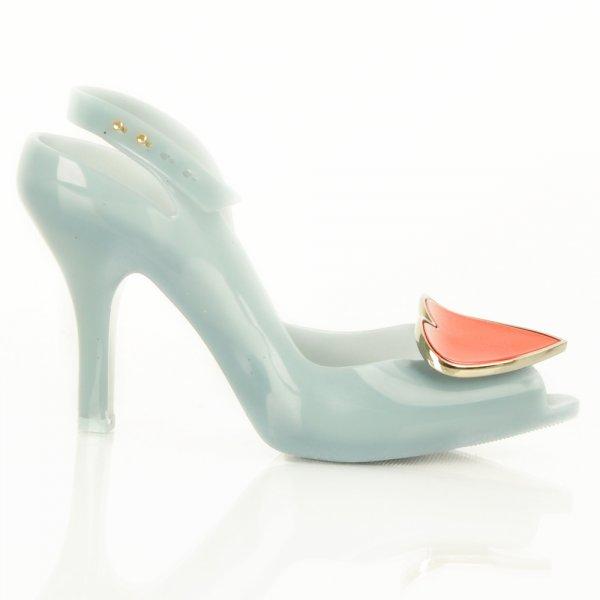 Vivienne Westwood Pale Blue Ladydragon Heart Womens Shoe