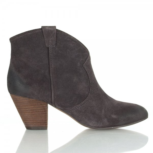 Ash Wood Grey Jalouse Women S Ankle Boot