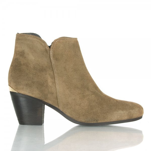 daniel diver taupe ankle boots