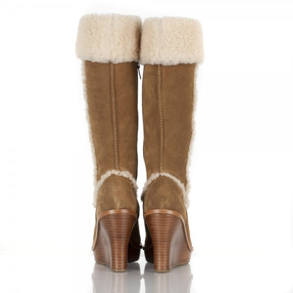 ladies wedge ugg boots