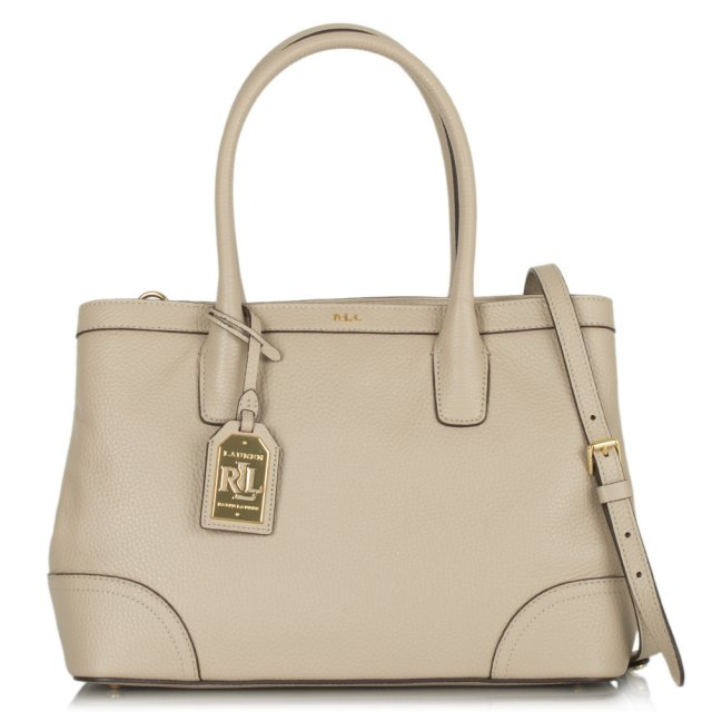 Beige RL Fairfield City Shopper Bag