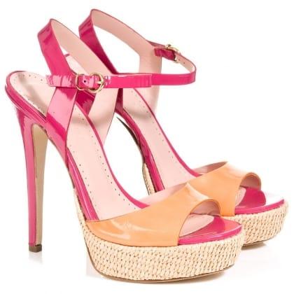 Daniel Troise Womens Platform Sandal