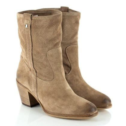 Daniel Taupe Sinfield Women's Calf Boot
