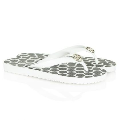 White Spot Flip Flop<br /> Women's Sandal