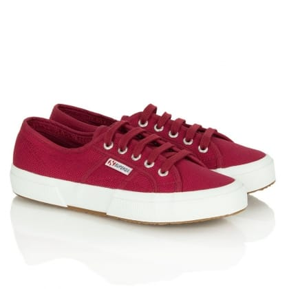 Red Cotu Women's Lace Up<br /> Trainer