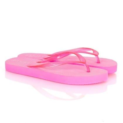 Fuschia Flat Toe Post Women's Upkeep Sandals