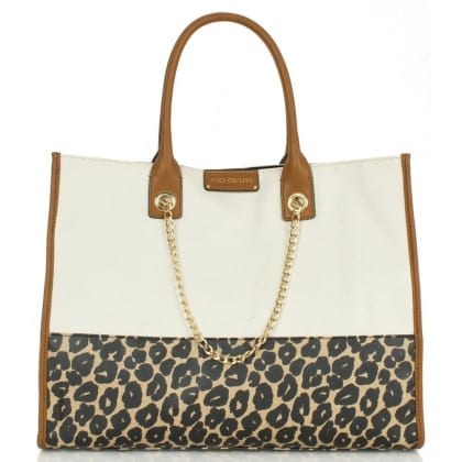 Multi Leopard Print Laurel<br /> Tote Bag