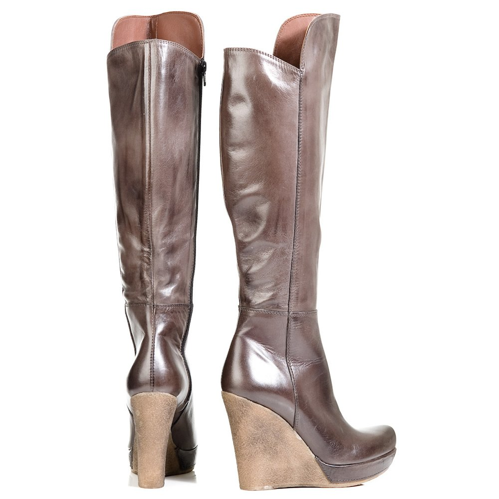 daniel grey wisdom womens knee high wedge boot