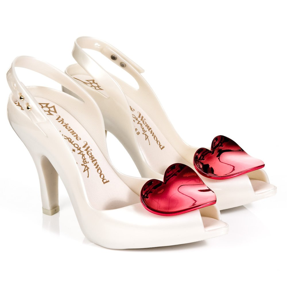Blue Heart Wedding Shoes
