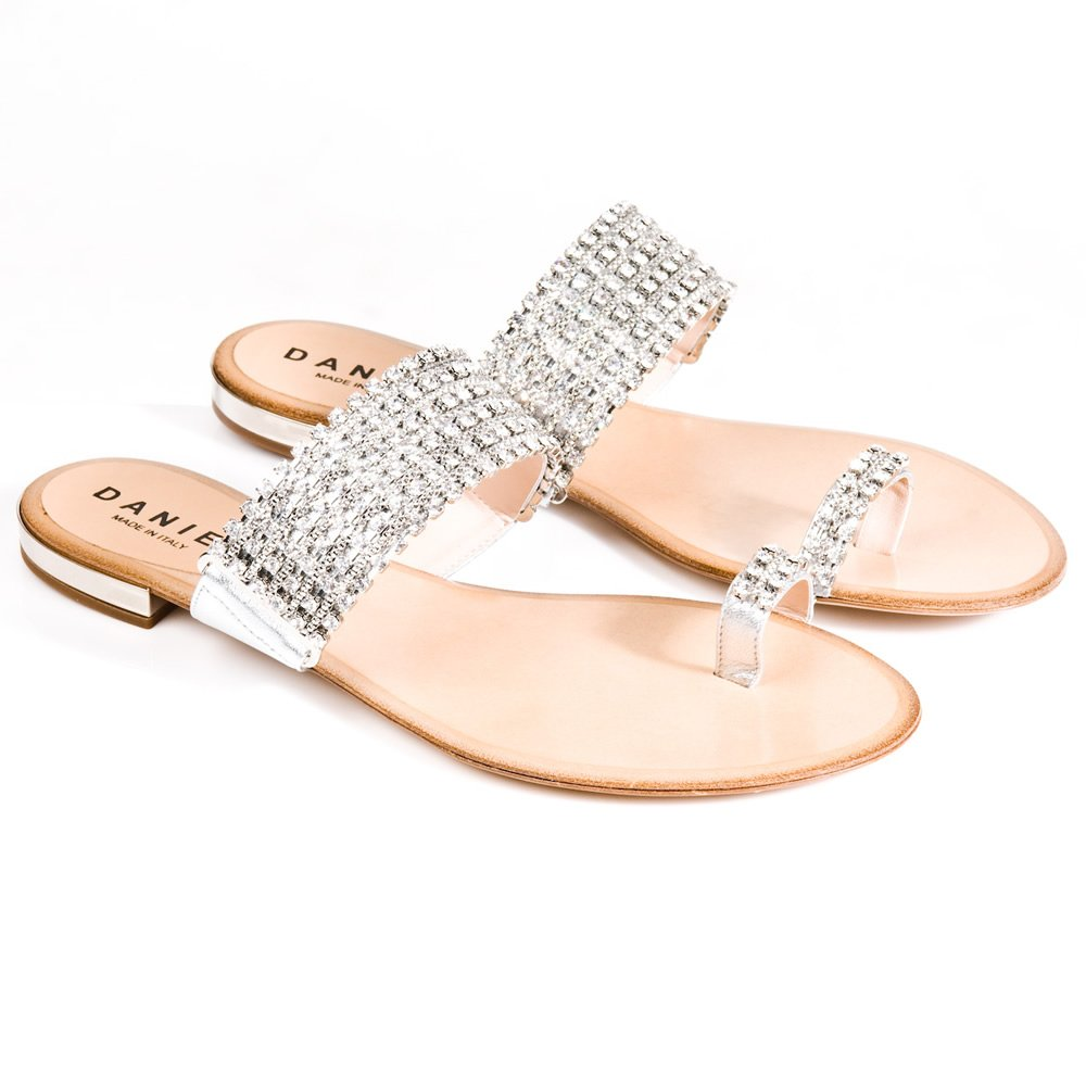 Flat Sandals  Rhinestone Sandals Flats