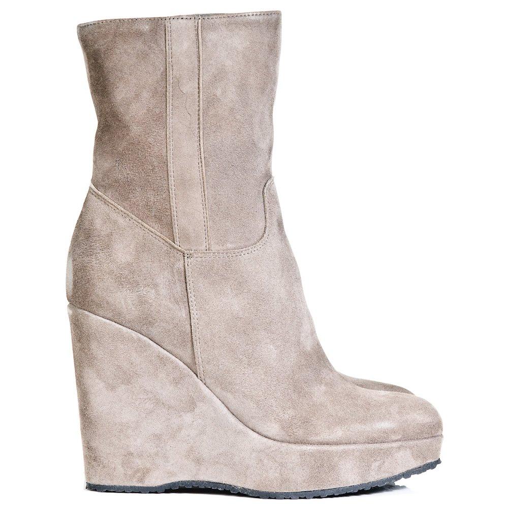 daniel daniel grey finn ankle womens wedge boot daniel
