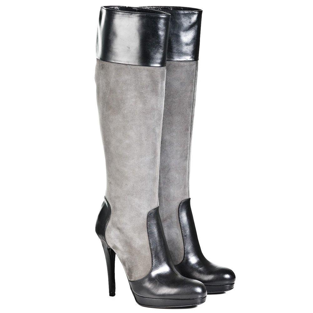 daniel daniel grey tasca womens knee high boot daniel