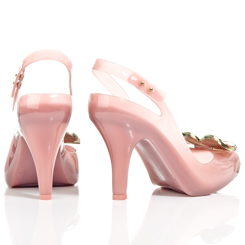 Vivienne Westwood Lychee Ladydragon Heart Womens Peep Toe Shoe
