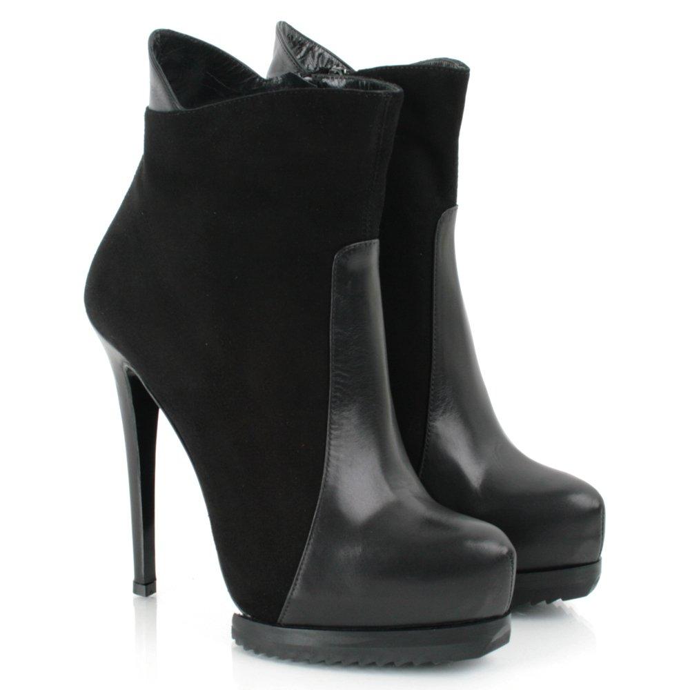 daniel black lauper women 39 s high heeled ankle boot. Black Bedroom Furniture Sets. Home Design Ideas