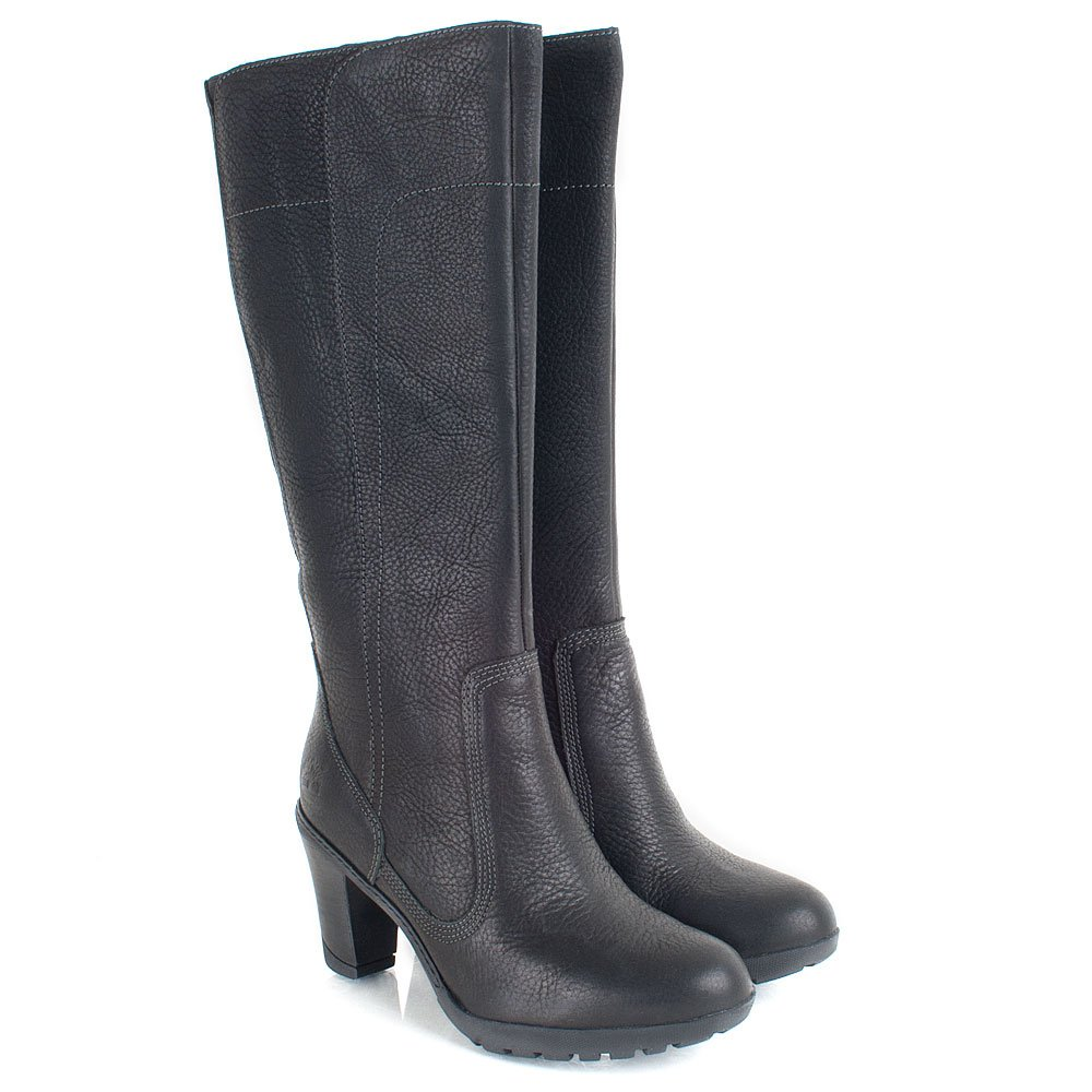 Elegant Womens EK Stratham Heights Ankle Water Proof Dark Brown Chelsea Boots