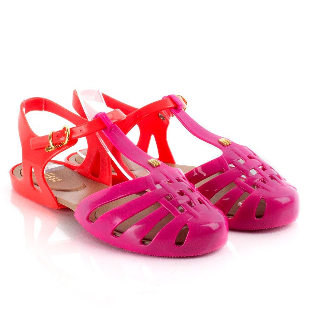 Melissa Pink Aranha Hits Women S Jelly Sandal