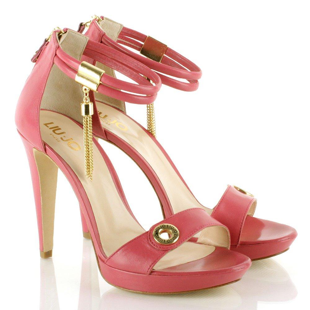 Liu Jo Pink Women S Good Luck High Heeled Sandal