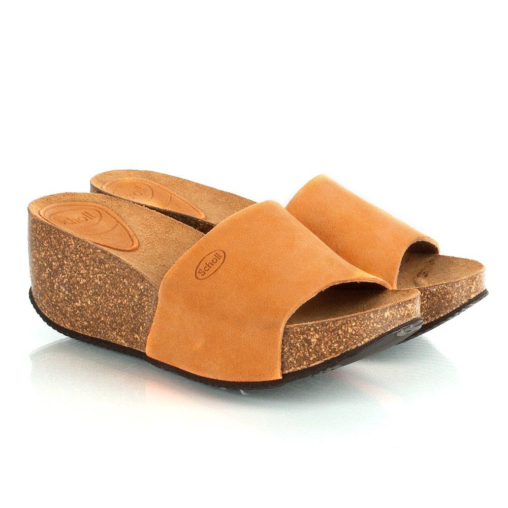 Scholl Enigan Women S Mid Wedge Sandal
