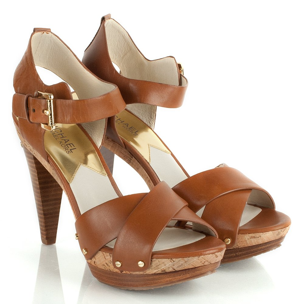 Peacocks Brown Heeled Shoes