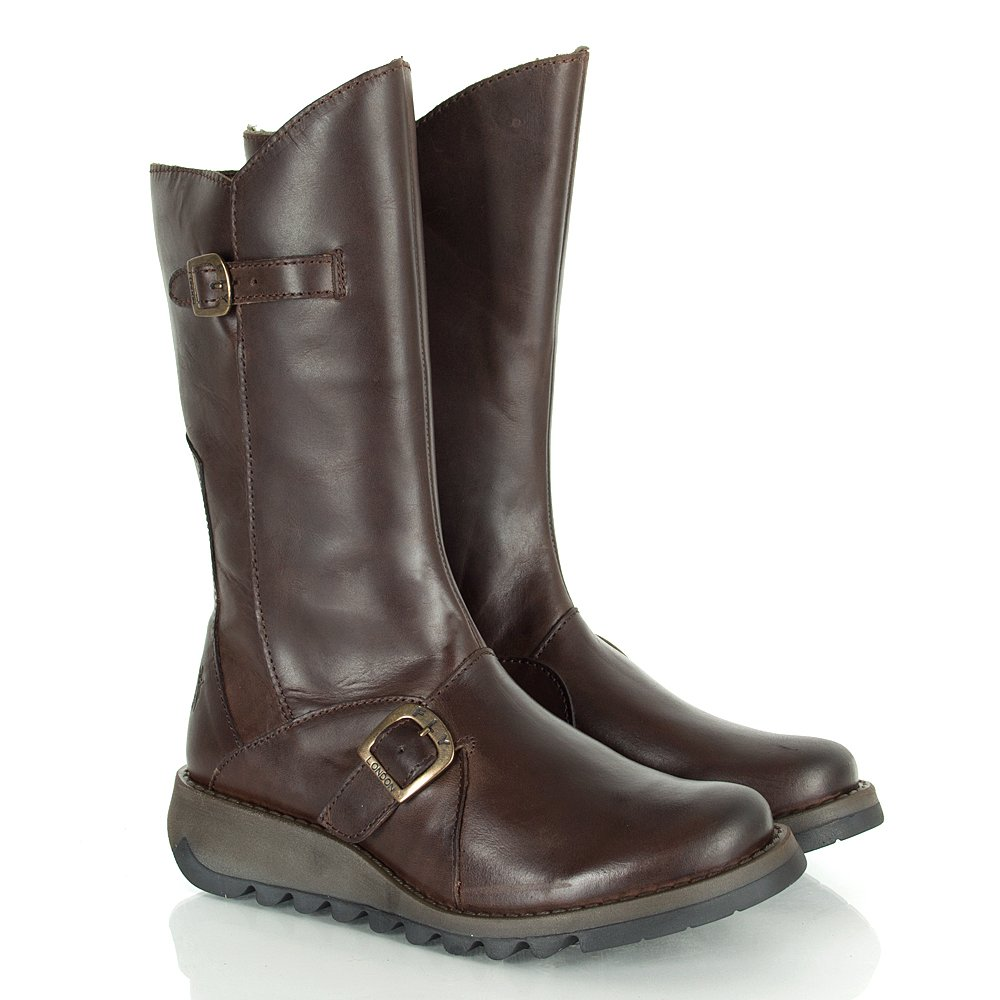 Home women designer boots fly london fly london brown