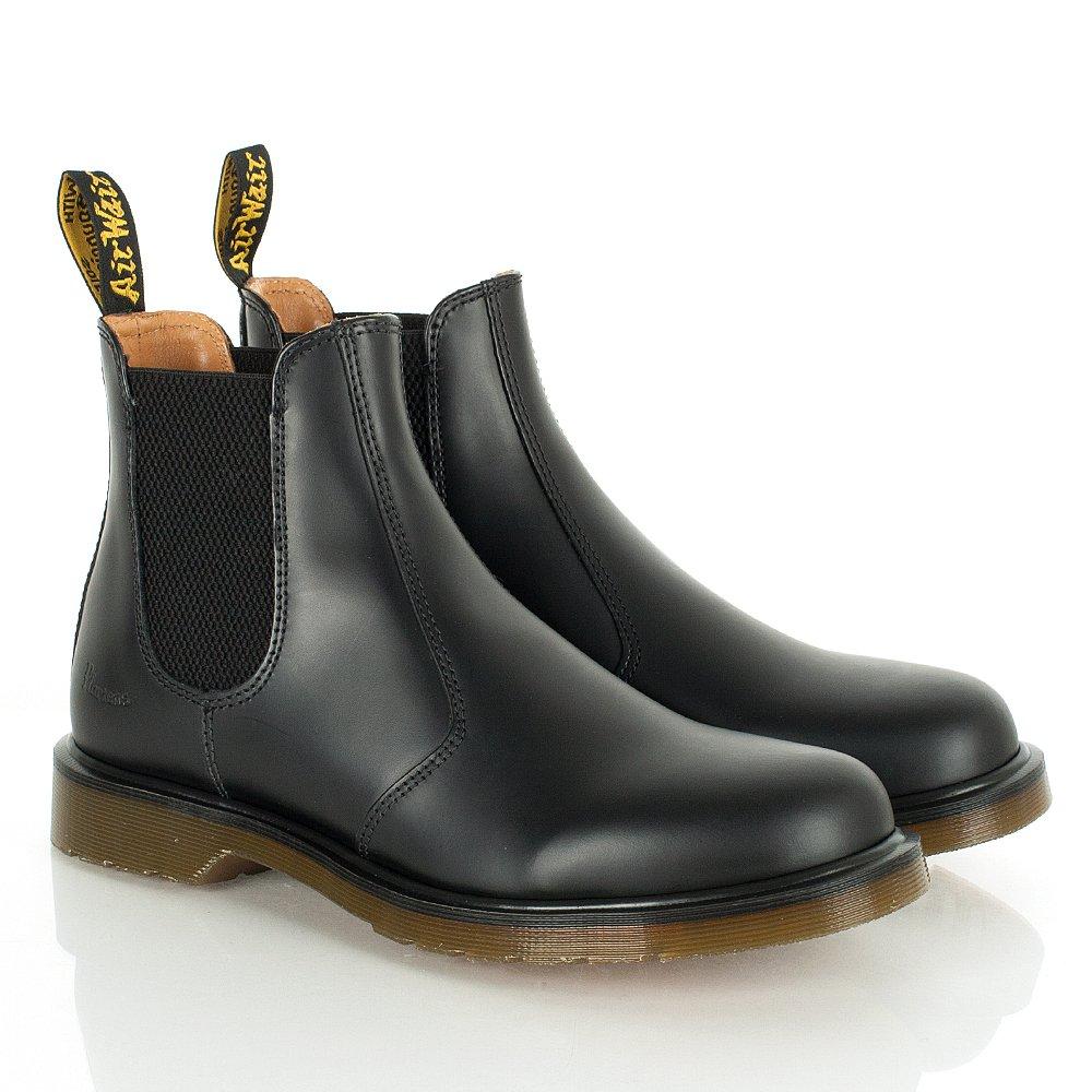 dr martens harlequins black chelsea boots. Black Bedroom Furniture Sets. Home Design Ideas