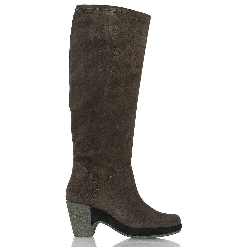 cer jacksonville brown suede knee boot