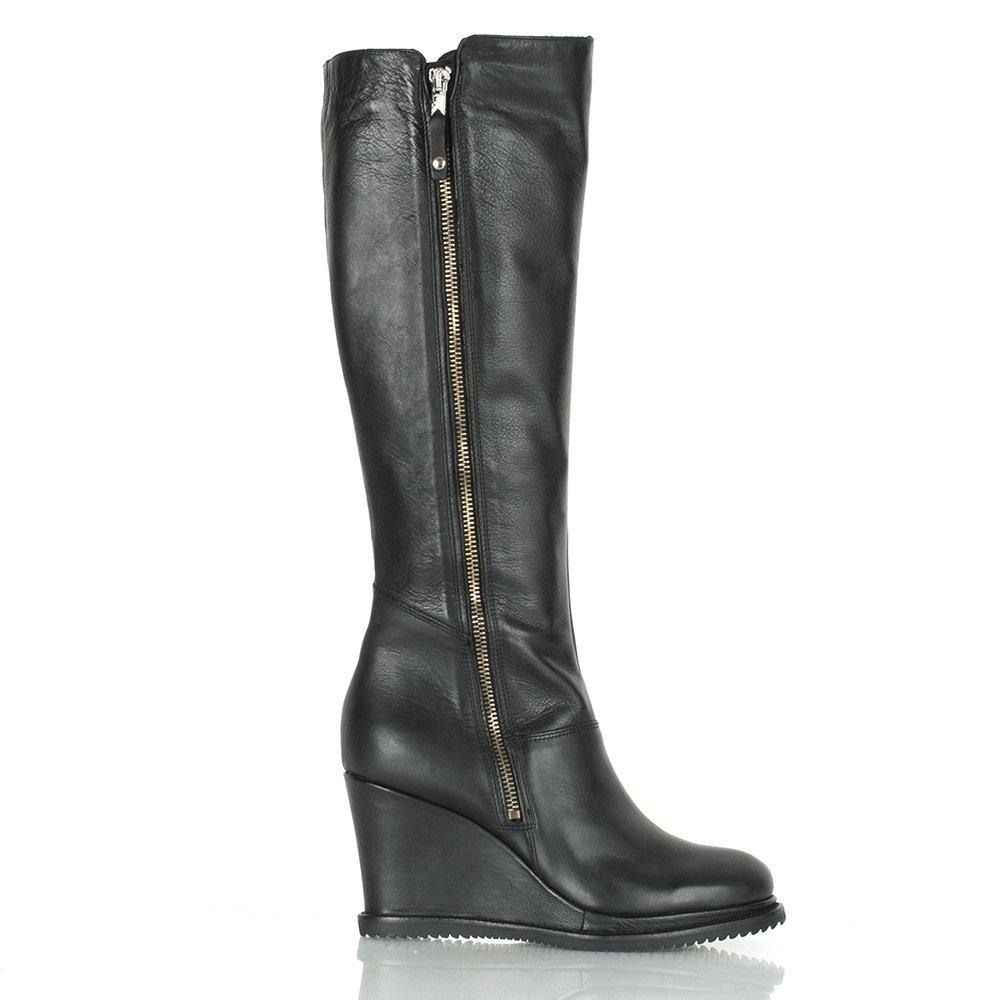 daniel black zen women s wedge knee boot