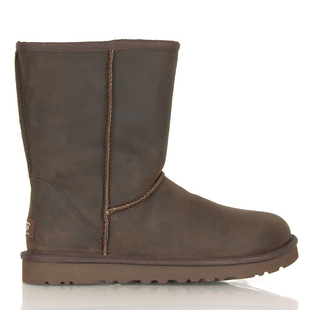 ugg australia classic chocolate s leather boot