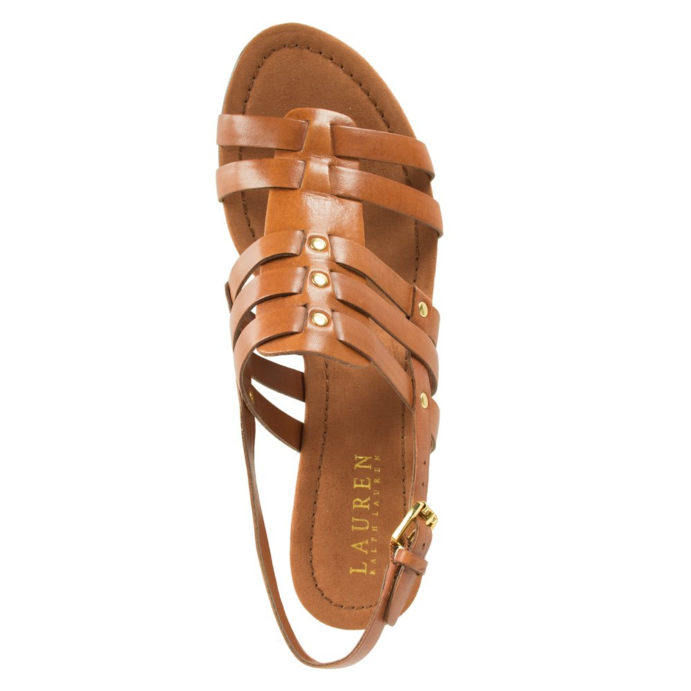 Lauren By Ralph Lauren Tan Lucetta Women S Wedge Sandal