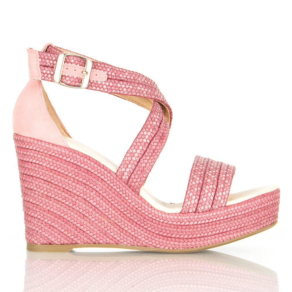 Daniel Alluring Dusky Pink Women S Wedge Sandal