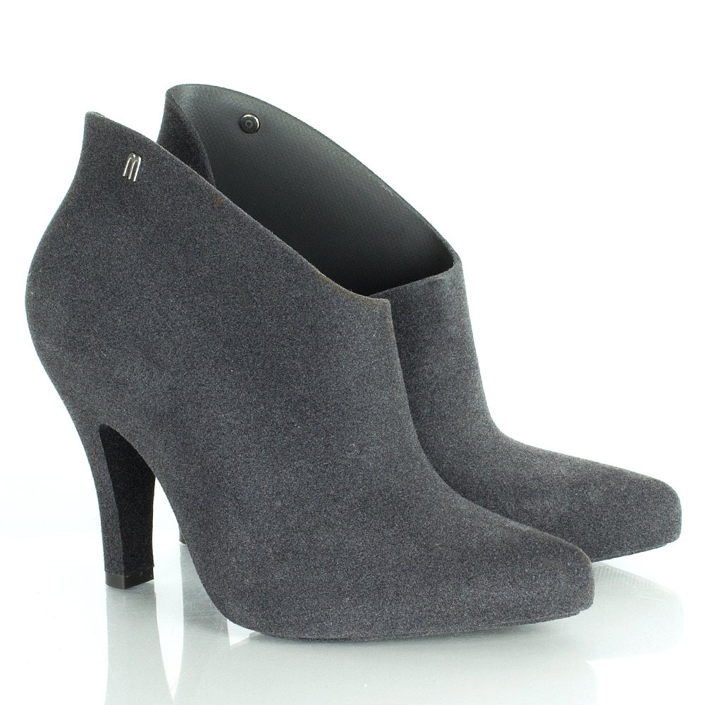 grey flock drama 12 women s ankle boot
