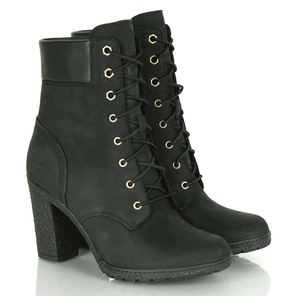 timberland black glancy 6 inch s ankle boot