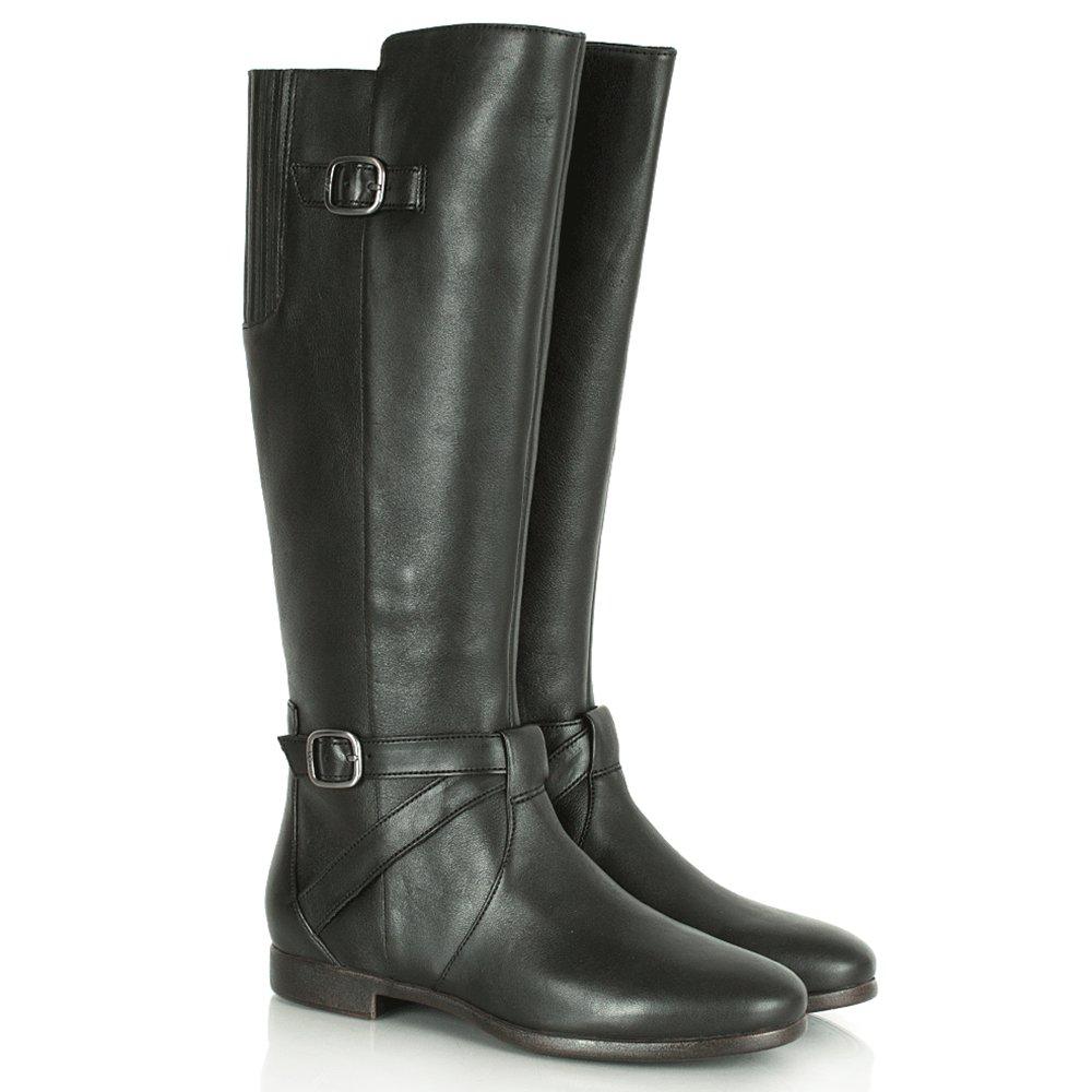 ugg 174 black beryl s flat knee high boot