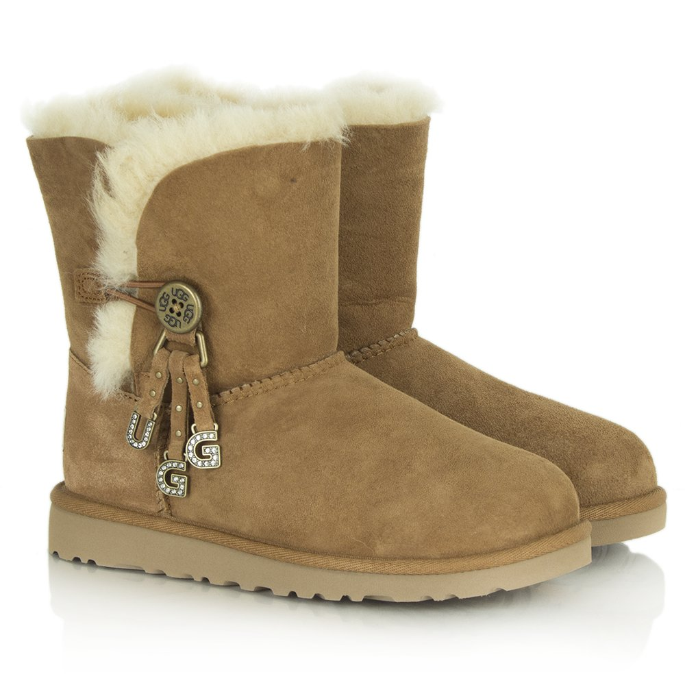 ugg australia bailey charms chestnut