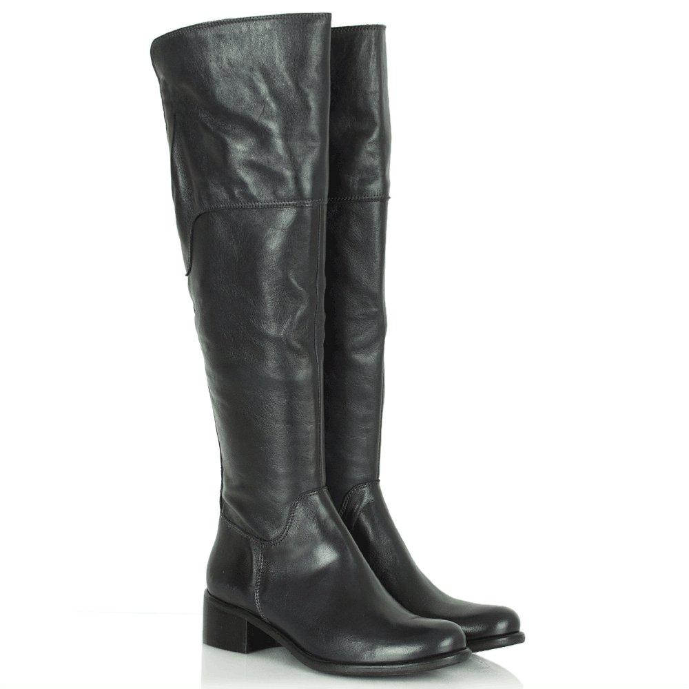 daniel navy trajan women s knee high boot