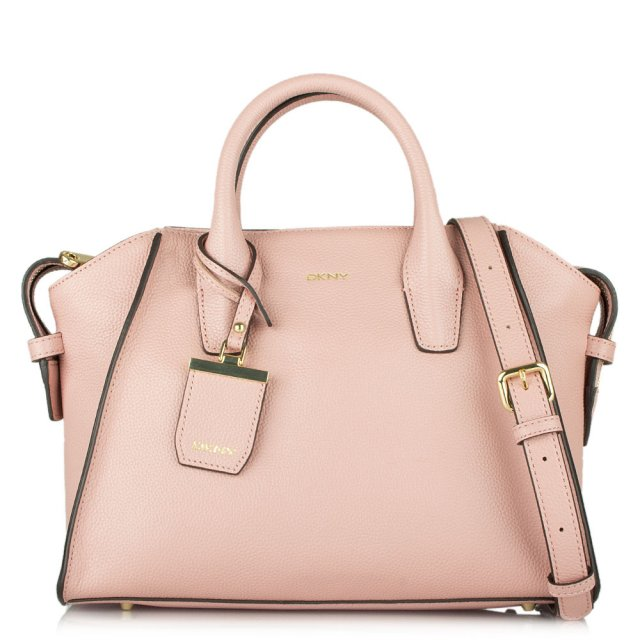 DKNY PIXIE ROSE LEATHER MEDIUM TOTE BAG | Daniel Footwear Blog
