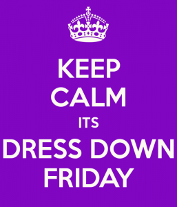 Dress down Friday, every day?