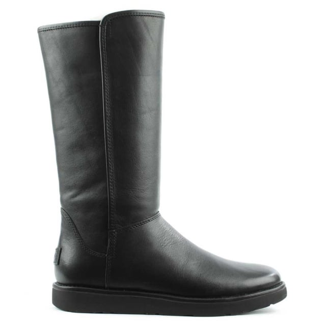 Abree Nero Leather Twinfaced Calf Boot