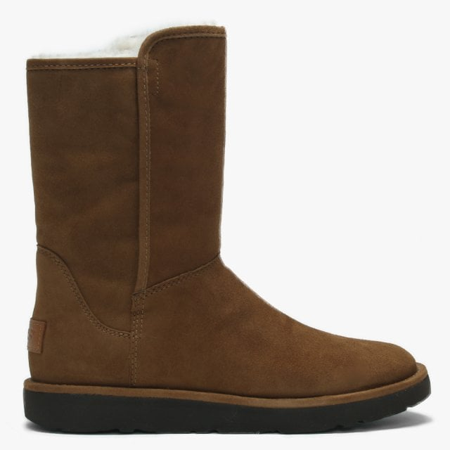 0772421bf8e Abree Short II Brown Suede Ankle Boot