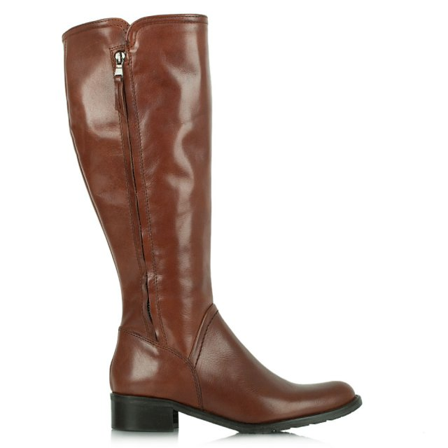 Acimal 48 Tan Leather Riding Boot