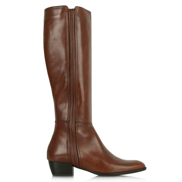Acimal 52 Tan Leather Knee High Boot