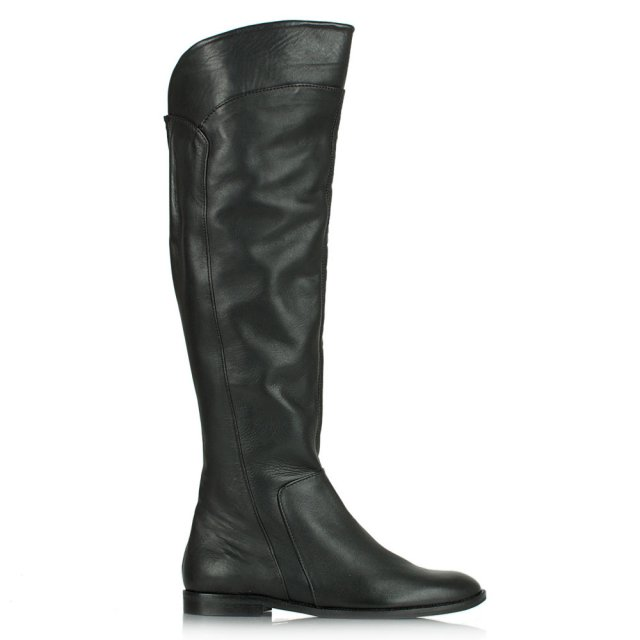 Acimal 78 Black Leather Knee High Boot