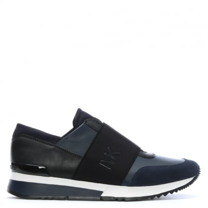 Admiral Leather Slip On Trainers